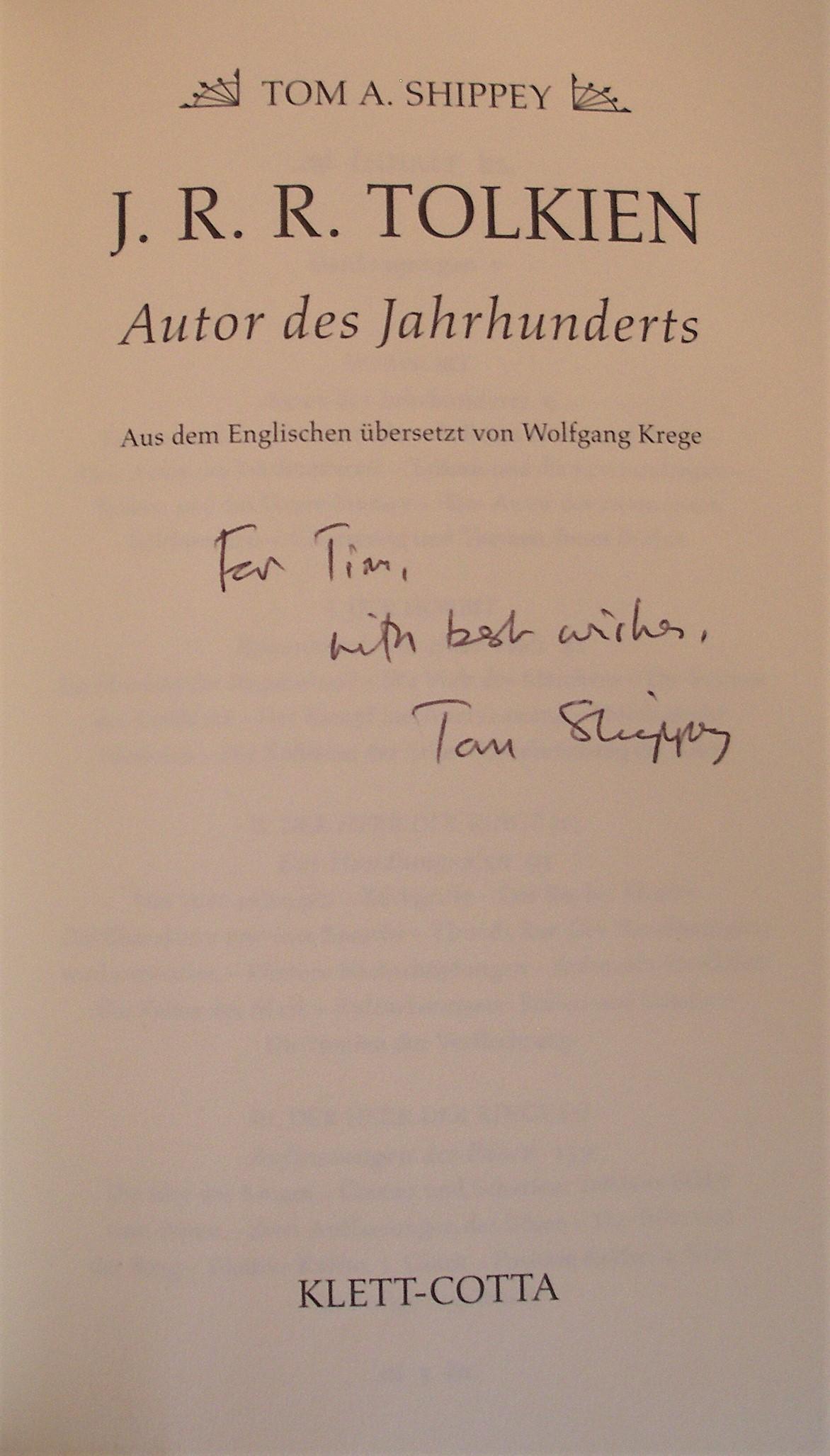 Tom Shippey